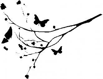 Leptiri i grana