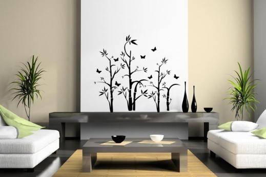Bambus i leptiri
