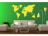 Mapa sveta bez Antartika