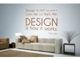 Design is not just